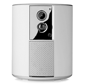 Caméra avec sirène intégrée